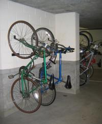 wall bicycle rack